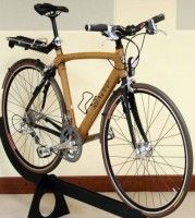 Commute in Style with a Wood Bike by Renovo - At Home with Kim Vallee Steel Bike Frames, Wood Bike, Light Words, Speed Bike, Mountain Biking, Bicycle, Absolutely Gorgeous, Envy, Weather
