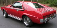 "1970 AMC AMX 390 CI ""GO"" package  rebuilt to concourse specs"