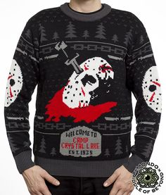 Friday the 13th Sweater