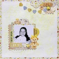 Teddy layout - Teddy Bears Picnic - Kaisercraft