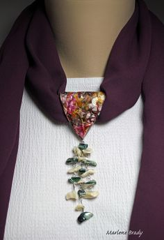 It's All About Creating: Polymer Bail - Scarf Jewelry