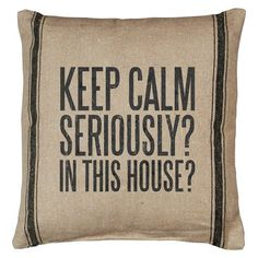 KEEP CALM - Pillow