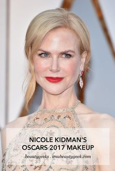 What makeup maven Jeanine Lobell used to create the star's Academy Awards red-carpet look.