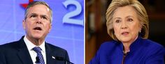Jeb Bush and Hillary Clinton seem inevitable. Except to voters. (AP)