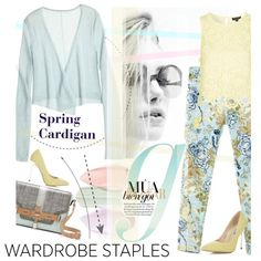 A fashion look from April 2015 featuring Calypso St. Barth sweaters, Topshop tops and Miss Selfridge pumps. Browse and shop related looks.