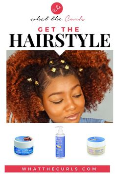 Natural Hairstyle w/Jewels & Rubber Band for Holidays - What The Curls Natural Hair Care Tips, Long Natural Hair, Natural Hair Updo, Natural Hair Styles, Rubber Band Hairstyles, Short Hairstyles, Bangs Tutorial, Natural Hair Inspiration, Stylish Hair