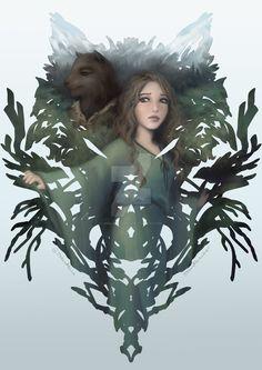 Naddie and Eihrdah Teaser Book Poster by JNGarrettArt on DeviantArt