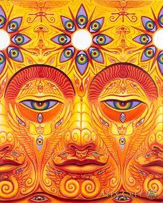 Sunyata - Alex Grey - www.alexgrey.com