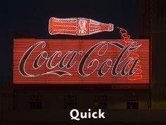 Coca-Cola neon sign by Metropol 21, via Flickr