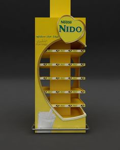 Nido on Behance Exhibition Stall, Exhibition Booth Design, Pop Display, Display Design, Wood Packaging, Packaging Design, Packing Box Design, Promotional Stands, Diy Room Decor Videos