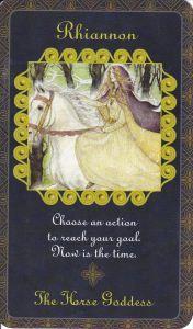 Rhiannon in Goddess Inspiration Oracle by Kris Waldherr