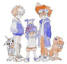 Character Concept, Character Design, Digimon Wallpaper, Digimon Adventure 02, Digimon Tamers, Digimon Digital Monsters, Art Painting Gallery, Jojo's Bizarre Adventure, Anime Manga