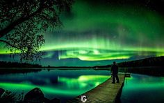 From Polvijärvi, Finland. Finland, Northern Lights, Community, Places, Instagram Posts, Nature, Travel, Lugares, Naturaleza