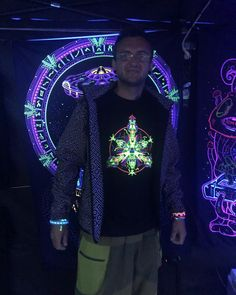 is Slovak rave brand with psychedelic, futuristic and cyberpunk features, energized by UV active colours.(Glowing under blacklight) Psytrance Clothing, Psy Art, Raves, Rave Outfits, Psychedelic Art, Alternative Fashion, Cyberpunk, Christmas Sweaters, Bring It On