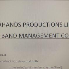 #band #management? Us? But who would we be managing, hmm? #soon #makinggains #spiderhandspnz