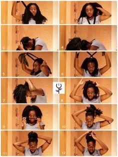 Vídeo tutorial: turbante y extensiones | Diario de la Negra Flor