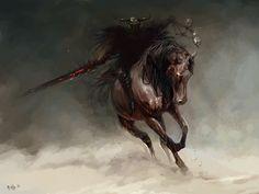 Horseman 2 by PabloFernandezArtwrk.deviantart.com on @DeviantArt