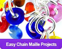 Chain Maille Tutorials from eCrafty.com #ecrafty #chainmaille #diyjewelry