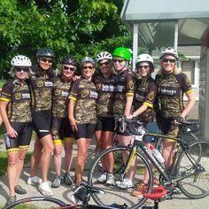 Way to go Ladies. Great job at the MS BIKE TOUR. #BatemansBikeCo #TeamBatemans #biketo #Norco #camo #roadbikes @mebateman