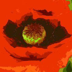 'Mohnblüte' von Dirk h. Wendt bei artflakes.com als Poster oder Kunstdruck $18.03