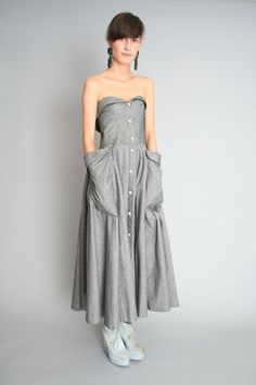 1980s Thierry Mugler Dress