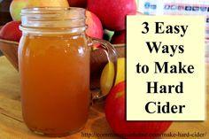 3 Easy Ways to Make Hard Apple Cider- Hard Cider Recipes