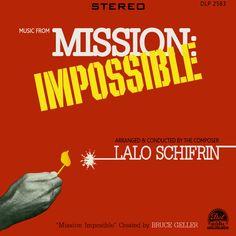 Mission: Impossible Restored Vintage TV Series Soundtrack Cover Mission Impossible Tv Series, Bond, Sound Library, Tv Land, Old Tv Shows, Vintage Tv, Classic Tv, Lps, Soundtrack
