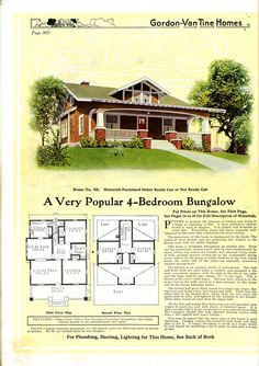 64 best kit houses from the 1920 s images vintage house plans rh pinterest com