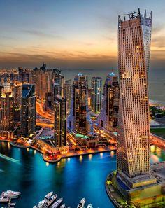 Dubai Marina via GMW Tours Dubai - Dubai City Tour