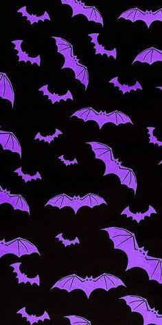 spooky purple aesthetic halloween bats wallpaper background iphone pumpkin scary tikto… | Halloween wallpaper iphone, Wallpaper backgrounds, Wallpaper iphone disney