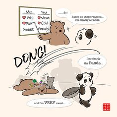 Latest commission: Who's the Panda? Read more: