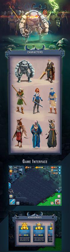 Game UI & Illustration