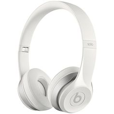 Beats by Dr. Dre Solo 2 HD High Definition On-Ear Headphones with... found on Polyvore featuring accessories, tech accessories, headphones, tech, electronics and fillers