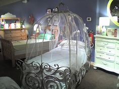 Cinderella Bed, Cinderella Bedding, Cinderella Carriage Bed, Cinderella  Bedroom, Cinderella Beds,