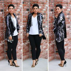 DIY Sequin Cardi - Mimi G Style I must find this for the Holidays!!!