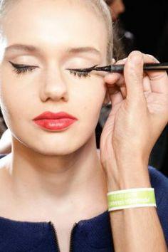 papo serio demulher: Tendências de Maquiagem SPFW Outono Inverno 2014