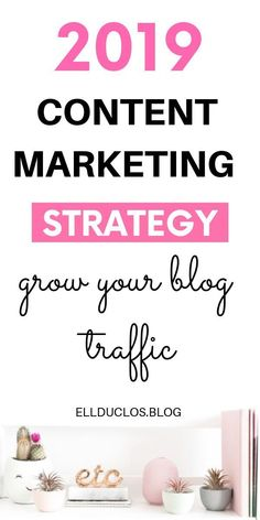 How to grow your blog traffic with a content marketing strategy! #contentmarketing #contentstrategy #marketingtips #growyourblog #blogtraffic #bloggingtips #bloggingforbeginners