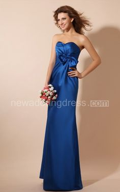 Romantic Long Maxi Satin Dress With Flower And Ruching