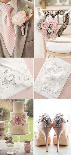 Vintage Pink Wedding Inspiration