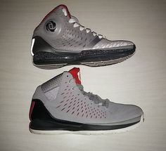 detailed look dcca6 16ef2 Derrick Rose Chicago Bulls Lot Of 2 Basketball Shoes Mens 8 NBA Adidas D  Rose adidas AthleticSneakers