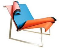 peel color change chair by Cate & Nelson