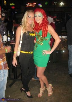 Poison Ivy - 2013 Halloween Costume Contest via @costumeworks - I like that this is pretty simple.