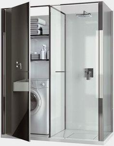 zmora wielu z nas - maleństwo kąpielowo-pralniowe, często jeszcze z wc...