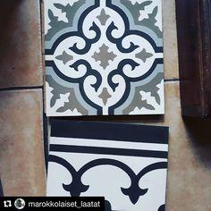 Näillä laatoilla saadaan aikaan hyvin persoonallisia tiloja. Taitavat ihan erityisesti koristaa monen ihmisen keittiötä... @marokkolaiset_laatat  #sementtilaatta #betonilaatta #marokkolaatta #laatat #laatta Monet, Instagram, Morocco