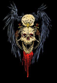Skull art on Behance