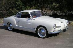 1961 Volkswagen Karmann Ghia Coupe.
