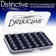 Distinctive Premium Bobbin Box Case with 30 Premium Style SA156 Bobbins Made for Brother Sewing Machines Distinctive http://www.amazon.com/dp/B003QCG9XG/ref=cm_sw_r_pi_dp_0ymEub120VNFZ