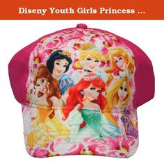 Diseny Youth Girls Princess Belle Snow White Cinderella Ariel Rapunzel Auror Baseball Hat Pink. Who doesn't love a great baseball hat? One thing is for sure, your customers will love this item. Whether they want to shield themselves from the hot sun or just pick up a cute gift for a friend or family member, this hat is the way to do it. Reasonably priced and great quality. Make sure to get your baseball hats now. Check out all of the designs. There are even some with contrasting bills.