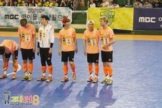 Luhan, Xiumin and Minho in MBC's Idol Futsal Championship Blog Update #5