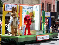 Peter Rabbit on Santa Parade        Auckland Farmers Santa Parade 2016. ... 33  PHOTOS        ... This year the event attended thousand aucklanders as well enjoy stunning performance        More details:         http://softfern.com/NewsDtls.aspx?id=1116&catgry=7            #costumes, #photos of New Zealand event, #what happened in Auckland, #characters, #Santa at Auckland's parade, #great for children